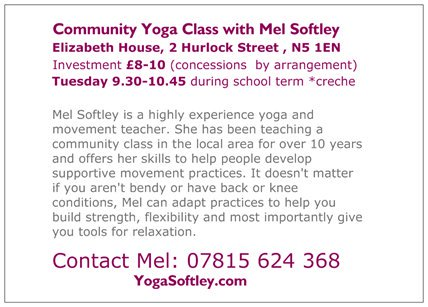 Mel Yoga back